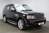 USED 2010 10 LAND ROVER RANGE ROVER SPORT 3.0 TDV6 HSE 5DR 245 BHP FULL SERVICE HISTORY FULL SERVICE HISTORY + HEATED LEATHER SEATS + SATELLITE NAVIGATION + SURROUND CAMERA SYSTEM + HEATED STEERING WHEEL + REAR ENTERTAINMENT CENTER + HARMAN/KARDON SOUND SYSTEM + ELECTRIC SUNROOF + CRUISE CONTROL + BLUETOOTH + PARKING SENSOR + DVB - T TV TUNER + CLIMATE CONTROL + MULTI FUNCTION WHEEL + DAB RADIO + ELECTRIC WINDOWS + 20 INCH ALLOY WHEELS