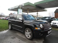USED 2009 59 JEEP PATRIOT 2.4 S-LIMITED 5d 168 BHP SERVICE HISTORY