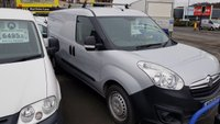 2013 VAUXHALL COMBO 2300 1.3CDTi 90BHP L2H1 LWB VAN WITH AIR-CON AND ROOF RACK,  £4995.00