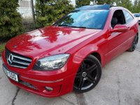 USED 2008 08 MERCEDES-BENZ CLC CLASS 2.1 CLC220 CDI SPORT 3d AUTO 150 BHP AUTOMATIC AUTO COUPE,FULL LEATHER