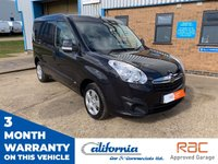 USED 2015 15 VAUXHALL COMBO 1.2 2000 L1H1 CDTI SPORTIVE 1d 90 BHP 1 OWNER - 12 MONTH COMPLIMENTARY BREAKDOWN COVER