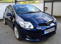 USED 2009 58 TOYOTA AURIS 1.6 SR VALVEMATIC 5d 124 BHP * ONE PREVIOUS OWNER - LOW TAX