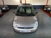 2003 FORD FIESTA 1.3 FINESSE 8V 3d £1750.00