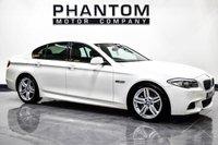 USED 2013 62 BMW 5 SERIES 2.0 520D M SPORT 4d 181 BHP