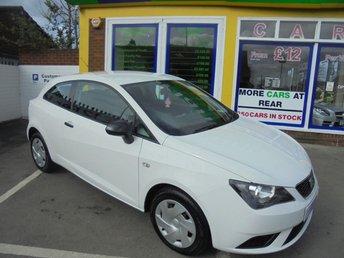 2012 SEAT IBIZA 1.2 S A/C 3d 69 BHP £4500.00
