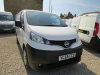 2015 NISSAN NV200 1.5 DCI ACENTA 90 BHP VAN WITH TWIN SIDE DOORS £8495.00