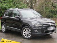USED 2013 13 VOLKSWAGEN TIGUAN 2.0 SE TDI BLUEMOTION TECHNOLOGY 5d 138 BHP LOW MILEAGE FAMILY SUV