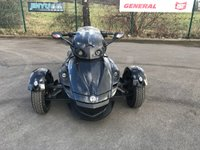 USED 2012 12 CAN-AM SPYDER 1.100 SPYDER RS IN BLACK 2012 CAN AM SPYDER 990CC RS IN BLACK