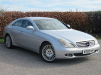 USED 2005 55 MERCEDES-BENZ CLS CLASS 3.0 CLS320 CDI 4d * AUTOMATIC * SATELLITE NAVIGATION * FULL LEATHER INTERIOR *