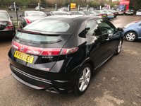 USED 2009 59 HONDA CIVIC 1.8 I-VTEC TYPE S GT 3d 138 BHP
