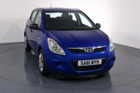 USED 2011 61 HYUNDAI I20 1.2 CLASSIC 5d 77 BHP 2 LADY OWNERS with 5 Stamp SERVICE HISTORY