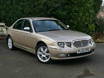 2004 ROVER 75 2.0 CONNOISSEUR CDTI 4d AUTO 129 BHP BMW ENGINE £2500.00