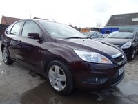 2008 FORD FOCUS 1.6 STYLE LOW MILES 56K DRIVES A1 £2295.00