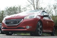 USED 2014 14 PEUGEOT 208 1.6 THP GTI LIMITED EDITION 3d 200 BHP HUGE SPEC 26K FSH A/C VGC