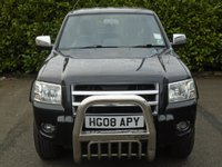 USED 2008 08 FORD RANGER 3.0 THUNDER 4X4 LWB D/C 1d AUTO 156 BHP 38,000 MILES PART EXCHANGE AVAILABLE / ALL CARDS / FINANCE AVAILABLE