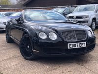 2007 BENTLEY CONTINENTAL GTC 6.0 W12 2dr Auto CONVERTIBLE £29400.00