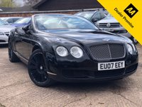 USED 2007 BENTLEY CONTINENTAL GTC 6.0 W12 2dr Auto CONVERTIBLE Full service history, Great entry level GTC.