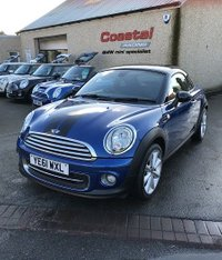 2011 MINI COUPE 1.6 COOPER 2d 120 BHP £5695.00