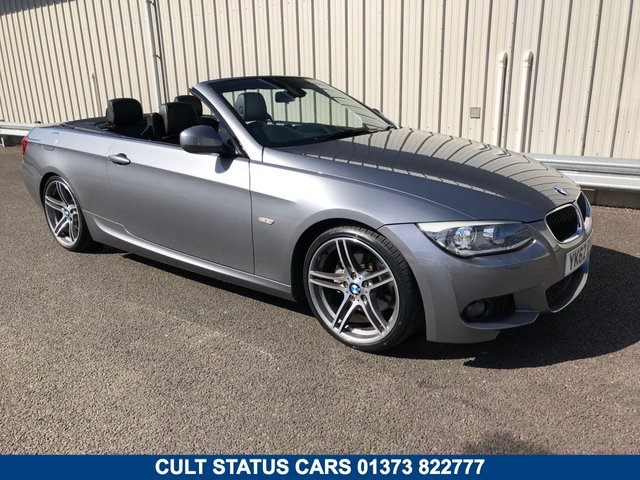 2012 62 BMW 3 SERIES 2.0 320D M SPORT PLUS EDITION AUTO 181 BHP CONVERTIBLE
