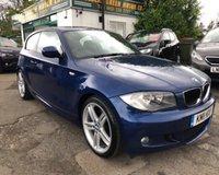 USED 2011 11 BMW 1 SERIES 2.0 118D M SPORT 3d 141 BHP