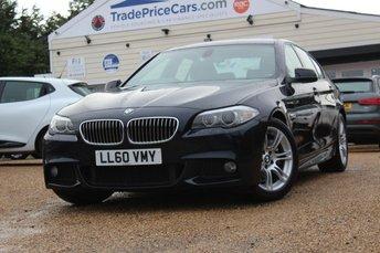 2011 BMW 5 SERIES 3.0 530D M SPORT 4d AUTO 242 BHP £12450.00