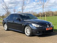 USED 2007 55 BMW 5 SERIES 3.0 525D M SPORT AUTO 195 BHP 4 DR SALOON +SAT-NAV+LEATHER+PRIVACY+