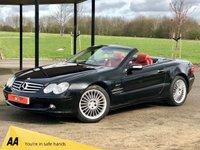 2004 MERCEDES-BENZ SL 3.7 SL350 AUTO 245 BHP 2DR CONVERTIBLE £SOLD