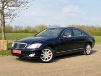 2006 MERCEDES-BENZ S CLASS S500 5.5 V8 LWB LIMO AUTO 383 BHP 4 DR SALOON £SOLD