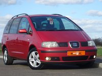 USED 2003 52 SEAT ALHAMBRA 1.9 SE TDI 5d 114 BHP VERY LOW MILEAGE + 2 OWNERS FROM NEW + HPI CLEAR