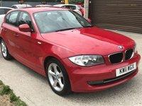 2011 BMW 1 SERIES 2.0 116I SPORT 5d 121 BHP £5490.00