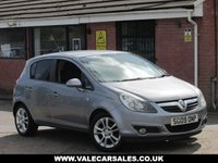 USED 2009 09 VAUXHALL CORSA 1.4 SXI (LOW MILEAGE) 5dr LOW MILEAGE AND GREAT VALUE