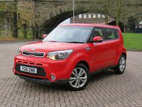 2016 KIA SOUL 1.6 CRDI CONNECT PLUS 5d AUTO 134 BHP £9970.00