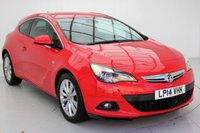 USED 2014 14 VAUXHALL ASTRA 1.4 GTC SRI 3d AUTO 138 BHP 1 OWNER, LOW  MILES, WARRANTY