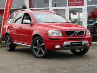 USED 2014 14 VOLVO XC90 2.4 D5 R-DESIGN NAV AWD 5d AUTO 200 BHP STUNNING, fully loaded VOLVO XC90 2.4 AWD D5  R-DESIGN NAV AUTO 7 SEATER. Finished in PASSION RED with contrasting ELECTRIC MEMORY HEATED LEATHER SEATS. This D5 R-Design is one of the most luxurious and sporty variants available with features which include, Sat Nav, 7 Seats, B/Tooth, Park Sensors, Cruise Control and Climate.: VOLVO Dealer serviced at 3 miles, 4640 miles, 26176 miles, 40663 miles, 63356 miles and by EMC on arrival.