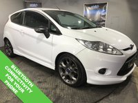 "USED 2011 61 FORD FIESTA 1.6 ZETEC S 3d 118 BHP USB & AUX Sockets   :   Black Cloth Upholstery   :   Folding / Heated Mirrors                     Air Conditioning   :   17"" Alloy Wheels   :   Reverse Parking Sensors"