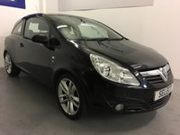 USED 2010 10 VAUXHALL CORSA 1.7 SE CDTI 3d 128 BHP Black metallic with alloys,electric pack-130 bhp fast and economical -genuine part exchange to clear ONLY