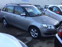 USED 2012 12 SKODA FABIA 1.6 SE TDI CR 5d 89 BHP Useful duel purpose estate car, economical, low road tax. Superb