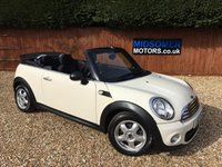 USED 2011 60 MINI CONVERTIBLE 1.6 ONE 2d 98 BHP