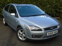 USED 2005 05 FORD FOCUS 2.0 TITANIUM 3d 144 BHP 82000 MILES PART EXCHANGE AVAILABLE / ALL CARDS / FINANCE AVAILABLE