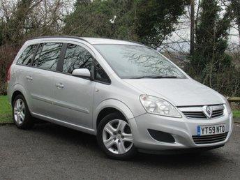 2009 VAUXHALL ZAFIRA 1.9 CDTi Exclusiv [120] 5dr Auto £3495.00