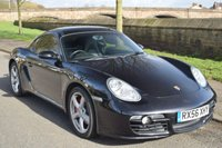 USED 2006 56 PORSCHE CAYMAN 3.4 S 24V  2d 295 BHP SERVICE HISTORY, SPORTS LEATHER, RADIO CD PLAYER, REAR SPOILER, PRIVACY GLASS