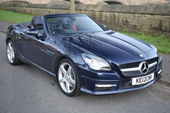 2012 MERCEDES-BENZ SLK 2.1 SLK250 CDI BLUEEFFICIENCY AMG SPORT 2d AUTO 204 BHP £12450.00