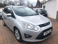 USED 2012 61 FORD GRAND C-MAX 1.6 ZETEC TDCI 5d 114 BHP