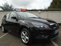 USED 2009 59 FORD FOCUS 1.6 ZETEC 5d 100 BHP GUARANTEED TO BEAT ANY 'WE BUY ANY CAR' VALUATION ON YOUR PART EXCHANGE