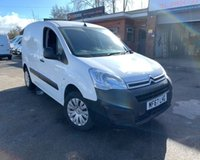 USED 2017 67 CITROEN BERLINGO 1.6 850 ENTERPRISE L1 BLUEHDI 1d 98 BHP great small euro 6 van