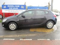 2010 VAUXHALL ASTRA 1.4 EXCLUSIV 5d 138 BHP £3995.00