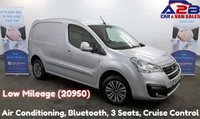USED 2016 16 PEUGEOT PARTNER 1.6 HDI PROFESSIONAL LOOK PACK, 3 Seats, Low Mileage (20950) Bluetooth, Cruise Control, DAB Radio **Drive Away Today** Over The Phone Low Rate Finance Available, Just Call us on 01709 866668**