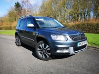 2016 SKODA YETI 2.0 OUTDOOR LAURIN AND KLEMENT TDI DSG SCR 5d AUTO 150 BHP £16995.00