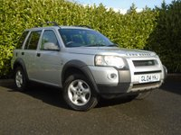 USED 2004 04 LAND ROVER FREELANDER 2.0 TD4 SE STATION WAGON 5d 110 BHP DIESEL PART EXCHANGE AVAILABLE / ALL CARDS / FINANCE AVAILABLE