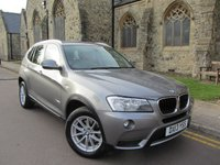 USED 2013 13 BMW X3 2.0 XDRIVE20D SE 5d AUTO 181 BHP + ONE OWNER + FULL HISTORY +